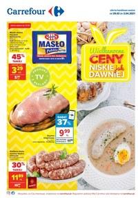 Gazetka promocyjna Carrefour - Wielkanoc z Carrefour - ważna do 03-04-2021