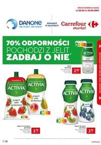 Gazetka promocyjna Carrefour Market - Danone w Carrefour Market   - ważna do 03-04-2021