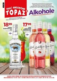 Gazetka promocyjna Topaz - Topaz - oferta z alkoholem - ważna do 30-04-2021