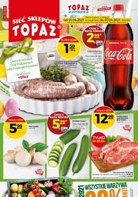 Gazetka promocyjna Topaz - Topaz - promocje na święta wiel - ważna do 07-04-2021