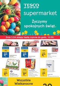 Gazetka promocyjna Tesco Supermarket - Świąteczne okazje w Tesco - ważna do 03-04-2021