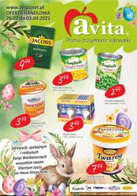 Gazetka promocyjna Avita - Świątecznie i wiosennie w Avita - ważna do 03-04-2021