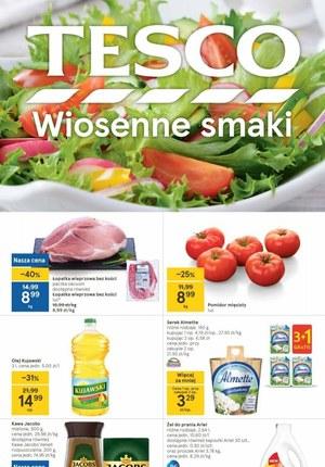Gazetka promocyjna Tesco Centra Handlowe - Wiosenne smaki w Tesco