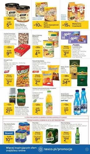 Wiosenne smaki w Tesco Supermarket