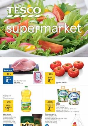 Gazetka promocyjna Tesco Supermarket - Wiosenne smaki w Tesco Supermarket