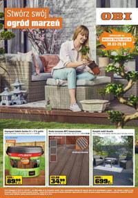 Gazetka promocyjna OBI - Stwórz swój ogród marze - ważna do 12-04-2021