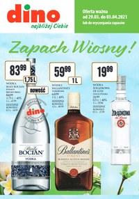 Gazetka promocyjna Dino - Katalog alkoholowy Dino! - ważna do 03-04-2021