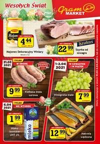 Gazetka promocyjna Gram Market - Wesołe święta z Gram Market - ważna do 06-04-2021