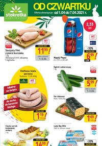 Gazetka promocyjna Stokrotka Supermarket - Coraz bliżej do świąt - Stokrotka Supermarket - ważna do 07-04-2021