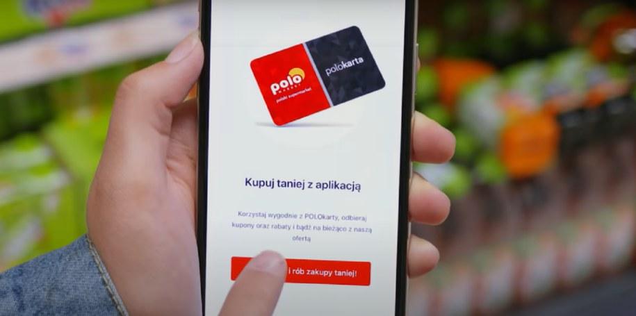 Aplikacja POLOmakret i płatności odroczone.