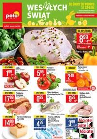 Gazetka promocyjna POLOmarket - Wesołych świąt życzy Polomarket! - ważna do 06-04-2021