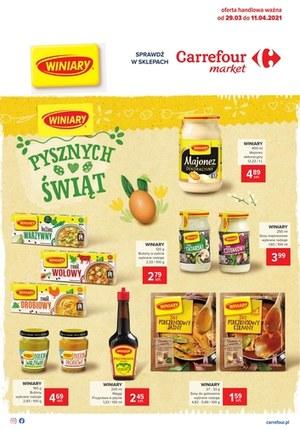 Gazetka promocyjna Carrefour Market - Pysznych świąt życzy Carrefour Market