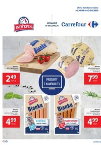 Gazetka promocyjna Carrefour - Pyszności w Carrefour   - ważna do 13-04-2021