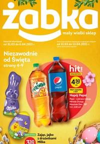 Gazetka promocyjna Żabka - Niezawodne od święta w Żabce - ważna do 13-04-2021