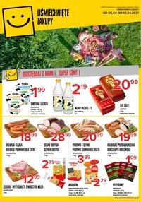 Gazetka promocyjna Uśmiechnięte zakupy - Oszczędzaj z nami - Uśmiechnięte Zakupy! - ważna do 18-04-2021