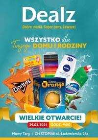 Gazetka promocyjna Dealz - Otwarcie Dealz Nowy Targ - ważna do 12-04-2021