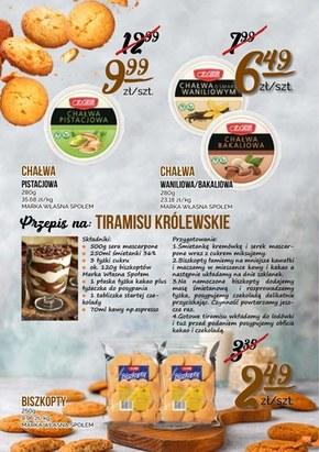 Szeroka gama produktów w Społem Kielce