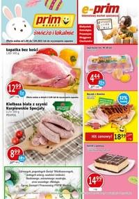 Gazetka promocyjna Prim Market - Świeżo i lokalnie w Prim Market!  - ważna do 07-04-2021