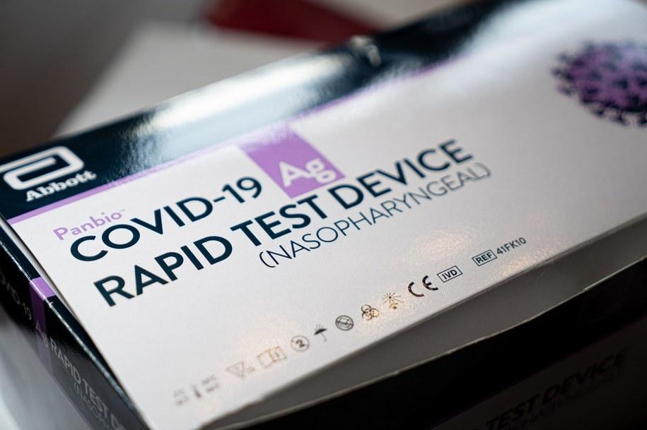 Test na koronawirusa w Aldi.