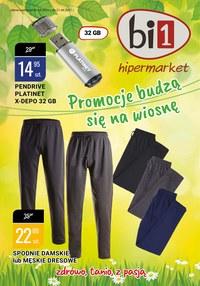 Gazetka promocyjna bi1 - Promocje budzą się na wiosnę w Bi1! - ważna do 21-04-2021