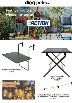 Gazetka promocyjna Action - Action - wiosenna oferta