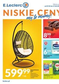 Gazetka promocyjna E.Leclerc - Niskie ceny 2 - oferta dotyczy wybranych sklepów  - ważna do 13-04-2021