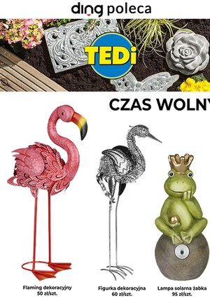 Gazetka promocyjna TEDi - Kwietniowe promocje w TEDi