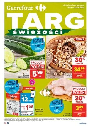 Gazetka promocyjna Carrefour - Targ świeżości w Carrefour