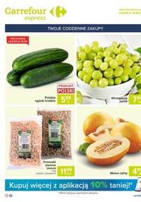 Gazetka promocyjna Carrefour Express - Oferta handlowa Carrefour Express - ważna do 12-04-2021