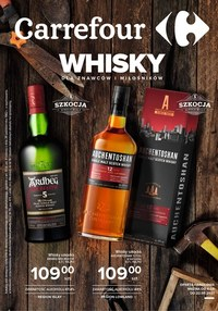 Oferta whisky w Carrefour