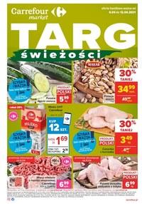 Gazetka promocyjna Carrefour Market - Targ świeżości w Carrefour Market - ważna do 12-04-2021