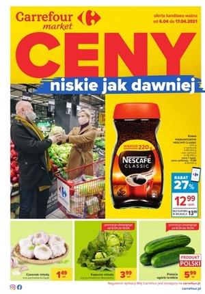 Gazetka promocyjna Carrefour Market - Ceny niskie jak dawniej w Carrefour Market