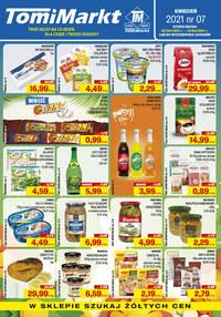 Gazetka promocyjna TomiMarkt - Promocje w sklepach TomiMarkt - ważna do 15-04-2021