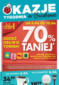 Gazetka promocyjna Biedronka - Okazje tygodnia w Biedronce - ważna do 10-04-2021
