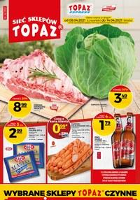Gazetka promocyjna Topaz - Świetne okazje w sklepach Topaz - ważna do 14-04-2021