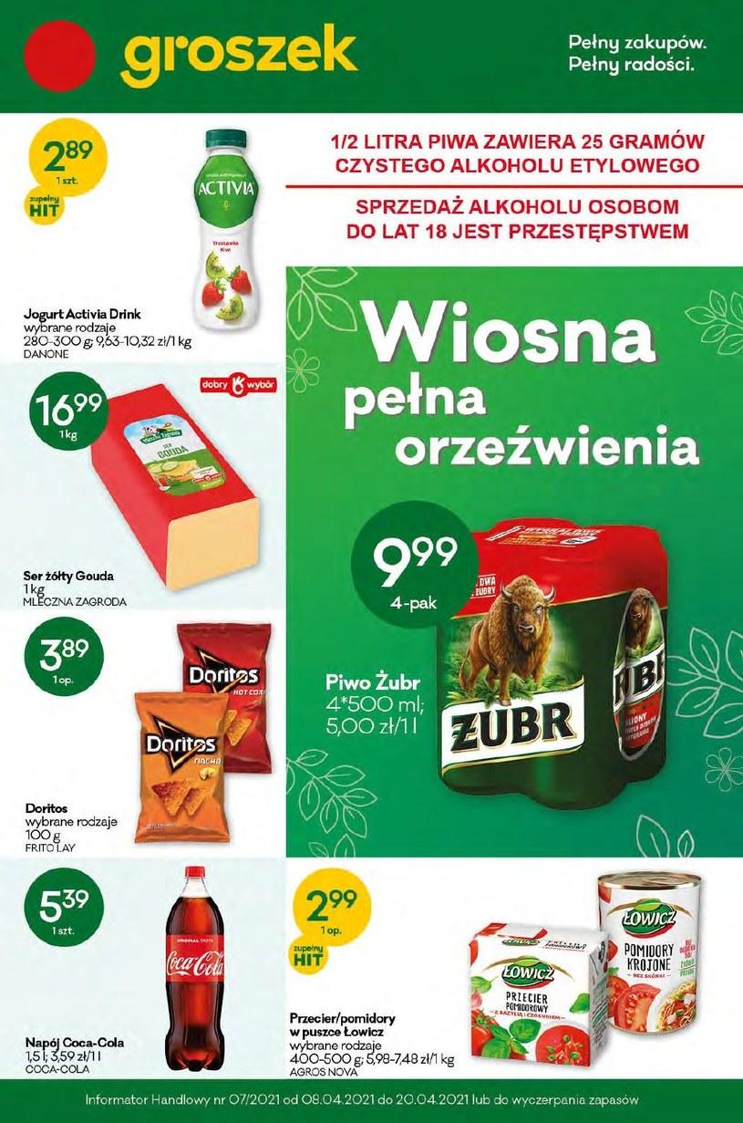 Gazetka promocyjna Groszek  - wygasła 19 dni temu