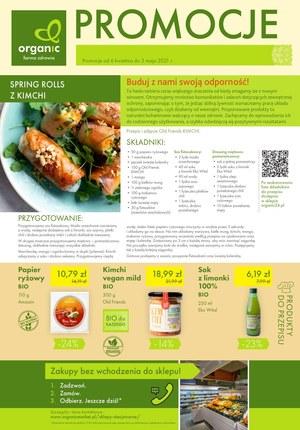 Gazetka promocyjna Organic - Promocje w sklepach Organic