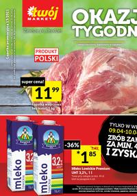 Gazetka promocyjna Twój Market - Tydzień mega okazji w sklepach Twój Market! - ważna do 13-04-2021