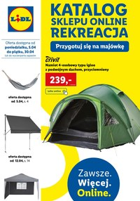 Gazetka promocyjna Lidl - Katalog sklepu online Lidl - ważna do 30-04-2021