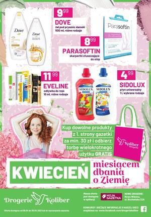 Gazetka promocyjna Drogerie Koliber - Kwietniowe okazje w Drogeriach Koliber