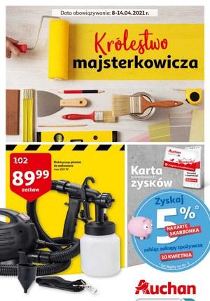 Gazetka promocyjna Auchan Hipermarket - Auchan - królestwo majsterkowicza