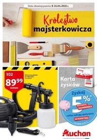Gazetka promocyjna Auchan Hipermarket - Auchan - królestwo majsterkowicza - ważna do 14-04-2021