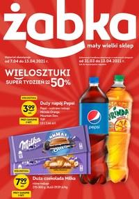 Gazetka promocyjna Żabka - Tylko w Żabce!   - ważna do 13-04-2021