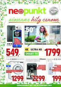 Gazetka promocyjna NEOPUNKT - Neopunkt - wiosenne hity cenowe - ważna do 20-04-2021