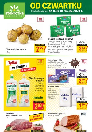 Gazetka promocyjna Stokrotka Supermarket - Od czwartku w Stokrotce