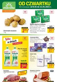 Gazetka promocyjna Stokrotka Market - Stokrotka Market - gazetka promocyjna - ważna do 14-04-2021