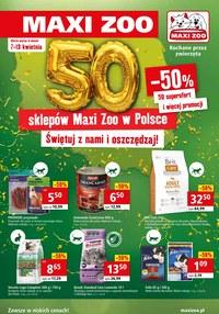 Gazetka promocyjna Maxi ZOO - Świętuj z Maxi Zoo!  - ważna do 13-04-2021
