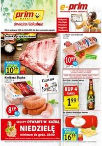 Gazetka promocyjna Prim Market - Prim Market - świeżo i lokalnie - ważna do 14-04-2021