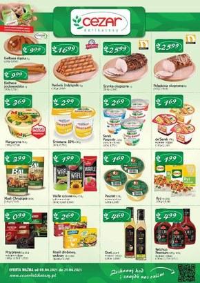 Zaskakujące ceny w Delikatesy CEZAR