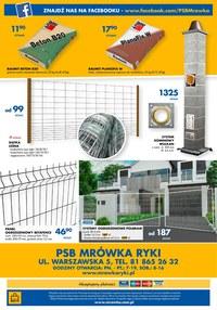 Gazetka promocyjna PSB Mrówka - PSB Mrówka Ryki